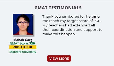 GMAT Testimonials