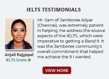 IELTS Testimonials