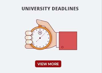 University Deadlines