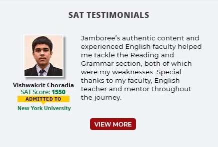 SAT Testimonials