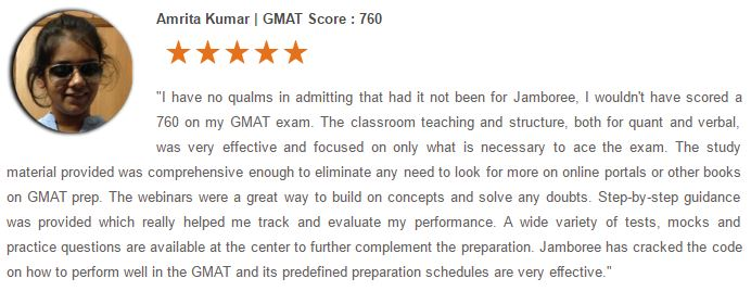 Jamboree GMAT Review