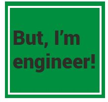 I am engineer