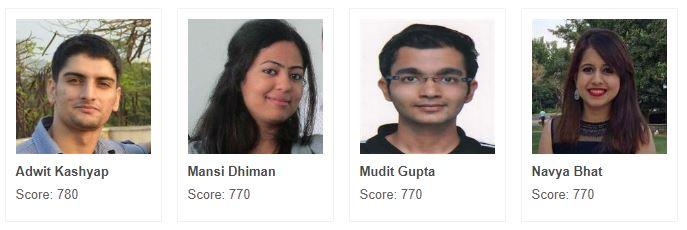 GMAT Scorers1