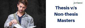 thesis vs non thesis