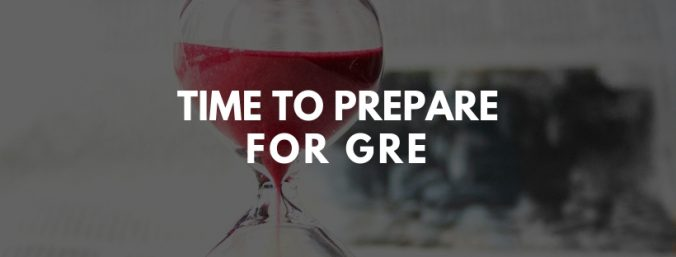time to prepare for GRE