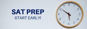SAT prep - start early
