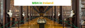 mba in ireland