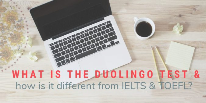 What is the Duolingo test and how is it different from IELTS and TOEFL