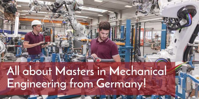 All about Masters in Mechanical Engineering from Germany