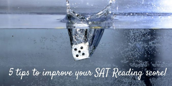 5 tips to improve your SAT Reading score