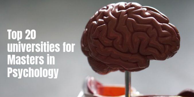 Top 20 universities for Masters in Psychology