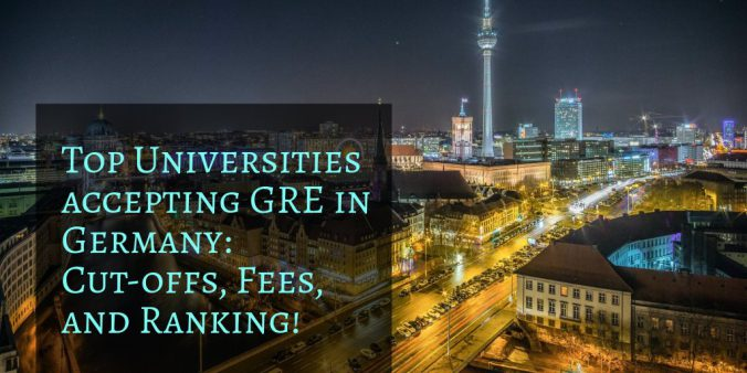 Top Universities accepting GRE in Germany