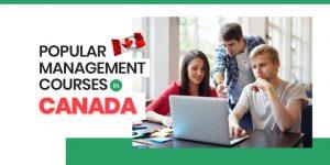 Popular Management Courses in Canada